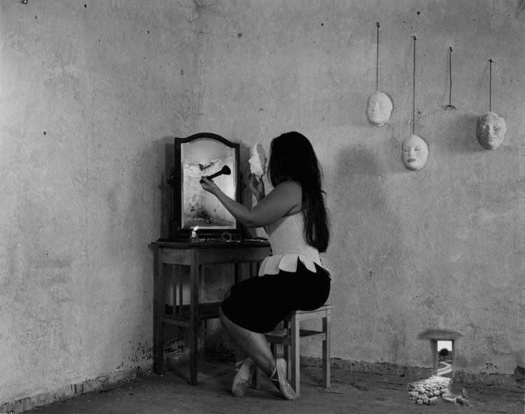 Laura Yawira Scheffer | Das erste Gesicht des dritten Tages | 2013 | Mischtechnik | © beim Fotografen
