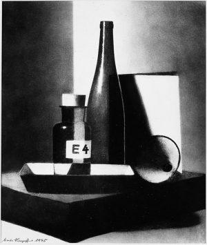 Komposition mit Flaschen (1945)