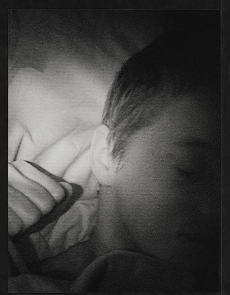 Alexander Schmidt | Serie: Sie schläft | © beim Fotografen