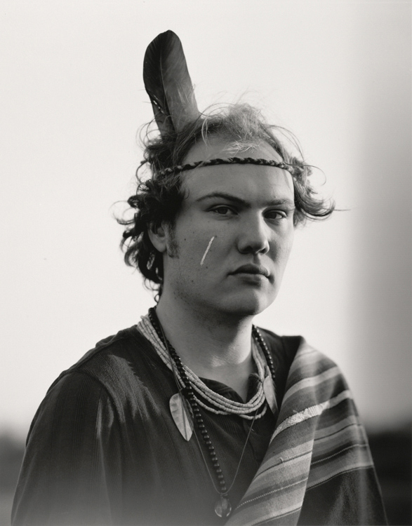Preisträger 2014: Christian Retschlag | Indianer | 2012 | Silbergelatine | © beim Fotografen