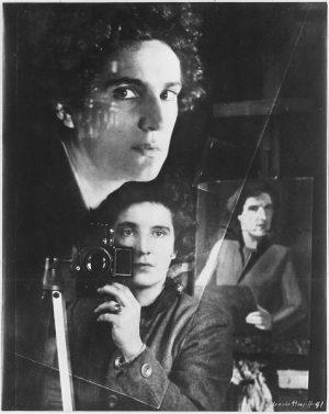 Selbstbildnis im Spiegel (1941)